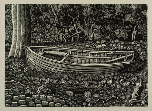 David-Frazer-Slow-Boat-Study-II