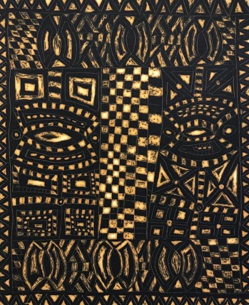 Tina PatlasCat#: 280-17-7/20Timrambu29.5 x 24.5cm (image), open bite etching with aquatint