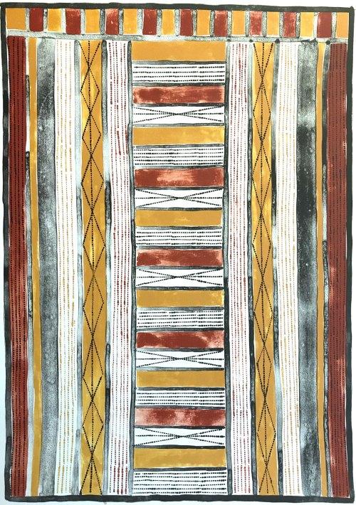 Pedro-Wonaeamirri-Yirrinkrupwoja-(Body-Painting)-2