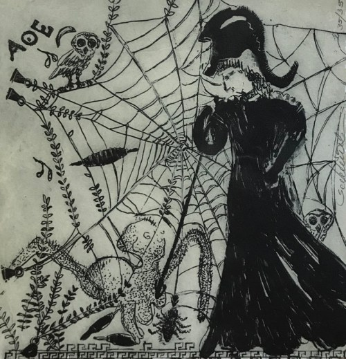 Lisa Sewards Arachne and Athena