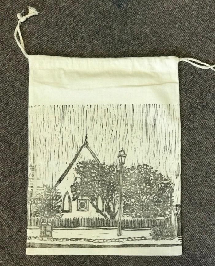 Queenscliff Gallery & Workshop drawstring bag