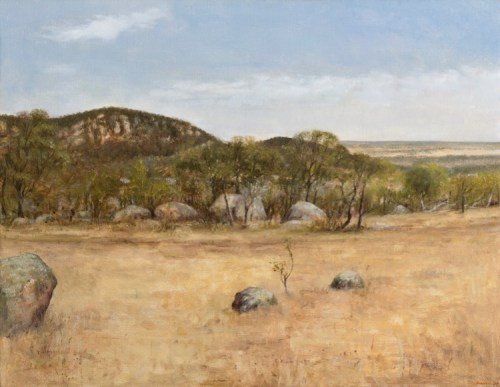 You Yangs II Oil on linen 435x560 F $ 4,500.00