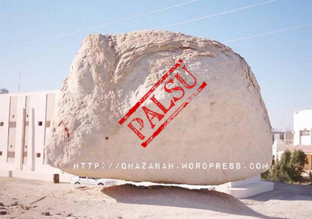 Batu Terapung PALSU 1