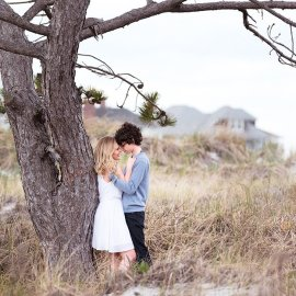 Beach Engagement Session in Gloucester, MA – Wingaersheek Beach- MA Wedding Photographer