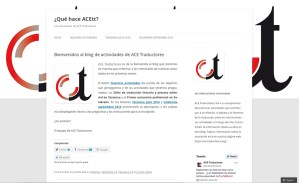 Blog ACE Traductores