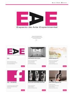 Web Espacio de Arte Experimental