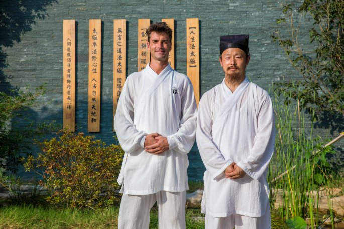 Chen Shi Xing Dao Chang et Colin Manoha à Wudang