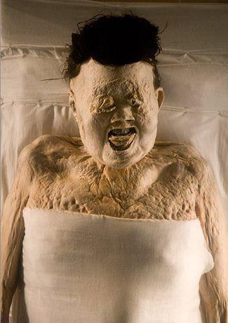 Mawangdui, la momia de lady Dai hallada en las tumbas de Mawangdui.