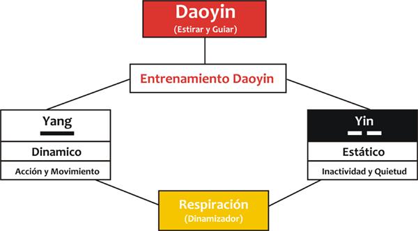 El entrenamiento Dao Yin