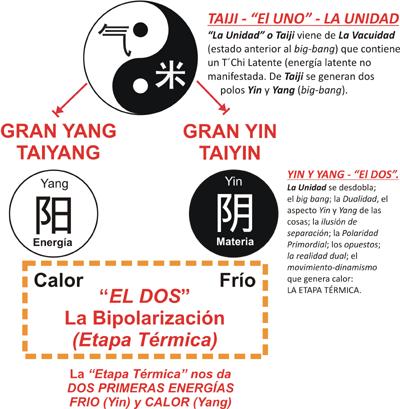 Daoyin Bioenergético: Creación Energética del Universo: El Uno y el Dos.