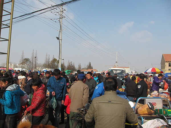 Haiyang Farmer Market Qindgdao expat