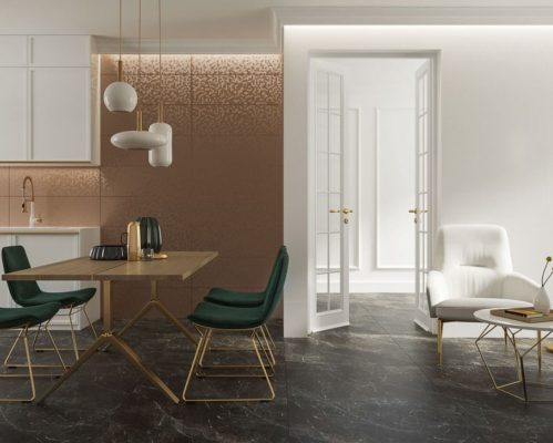 The timeless white, combined with the roughness of grey stones or warm, bright colours complemented by wooden elements