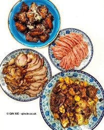 Chinese meat dishes