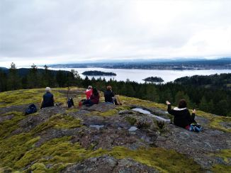 View from Rousseau Ridge