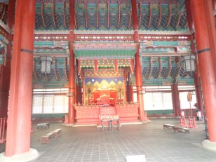 didalam istana gyeongbokgung