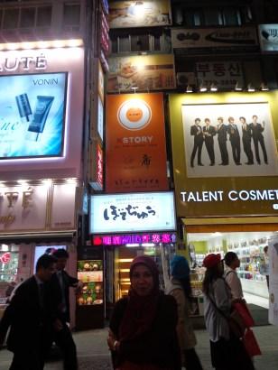 K story heechul @myeongdong