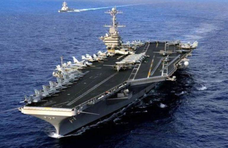 美国军舰穿越海峡,东部战区海空严阵以待,专家:单枪匹马要掂量