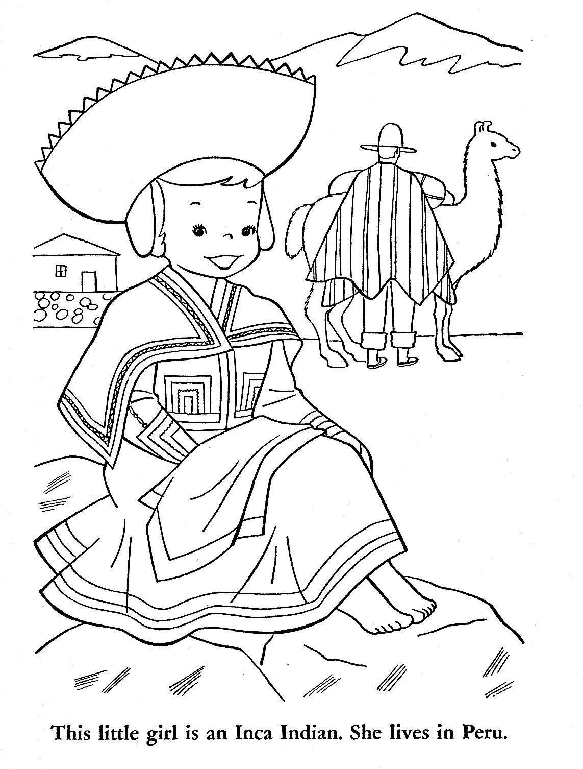 Peru Map Coloring Coloring Pages