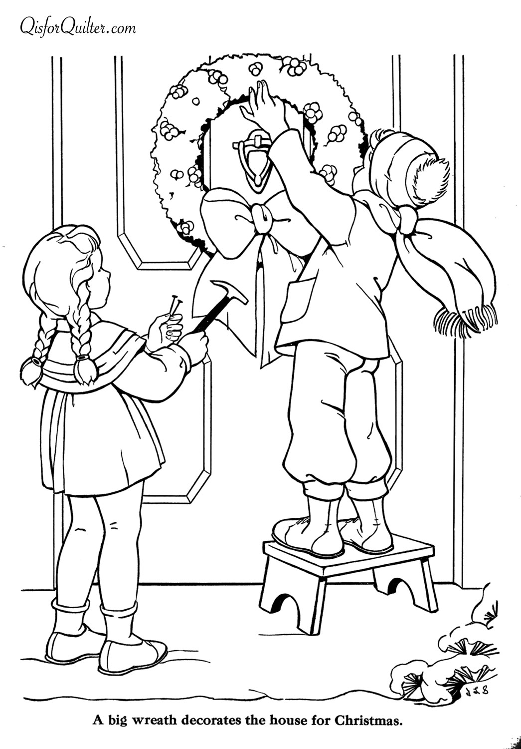 Images About Christmas And Winter Coloring Pages On Pinterest
