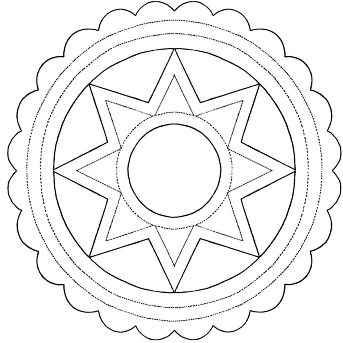 Crown Applique Pattern