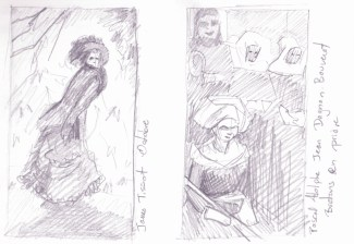Thumbnails of some pieces in the old masters section. I wanted to capture the values quickly for later reference.