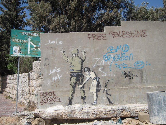 Banksy in West Bank