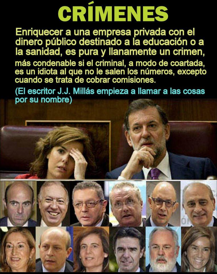 13 de los 14 miembros del Gobierno están acusados de corrupción (1/6)