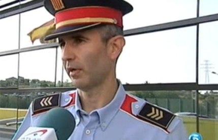 Entrevista Telecinco a Mossos Esquadra