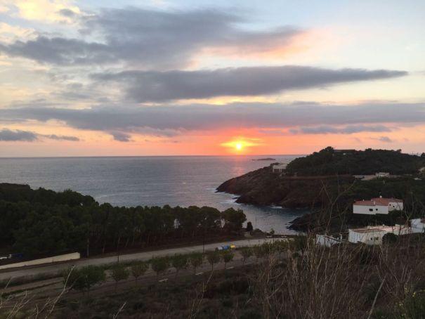 Port LLigat sortida del sol Cadaqués Cap de Creus