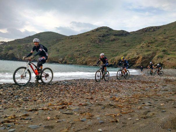 BTT Bicicleta ruta cala Joncols Cap de Creus Roses