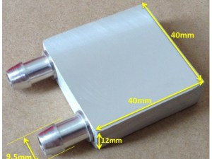 Aluminum water cooling block
