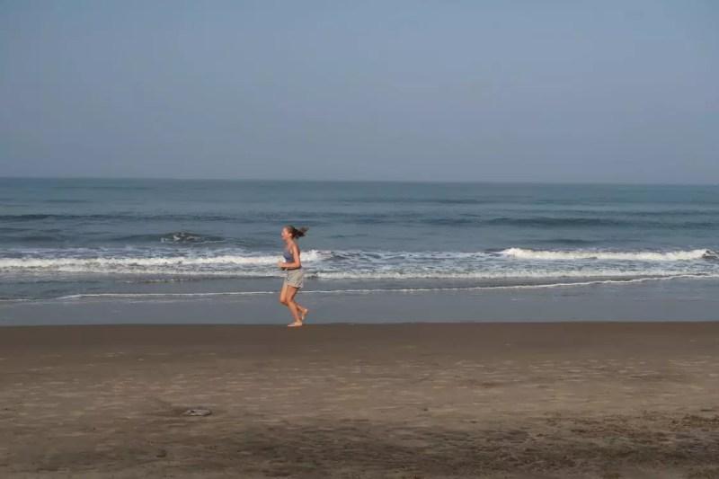 Strandløb i Goa