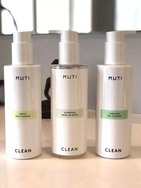 MUTI renseprodukterne, milk, miscellar eller gel, er alle med det nye ε-Peptide-Complex.