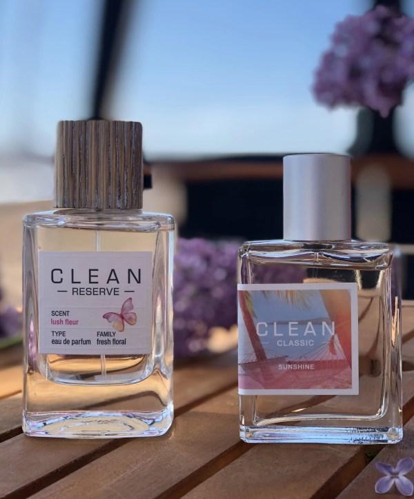 CLEAN har lanceret to nye dufte, Sunshine og Lush Fleur, som begge har ramt plet hos mig.