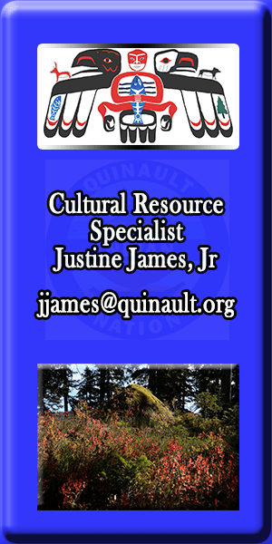 Quinault Division of Natural Resources Culture Specialist