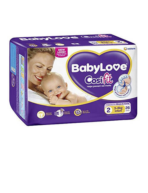 Nappies - Baby Love