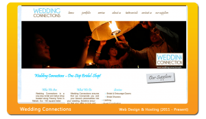 weddingconnectionsph-website-design