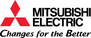 Mitisubishi electric changes for the better logo
