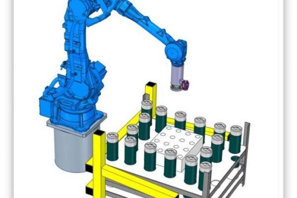 Yaskawa handling robot