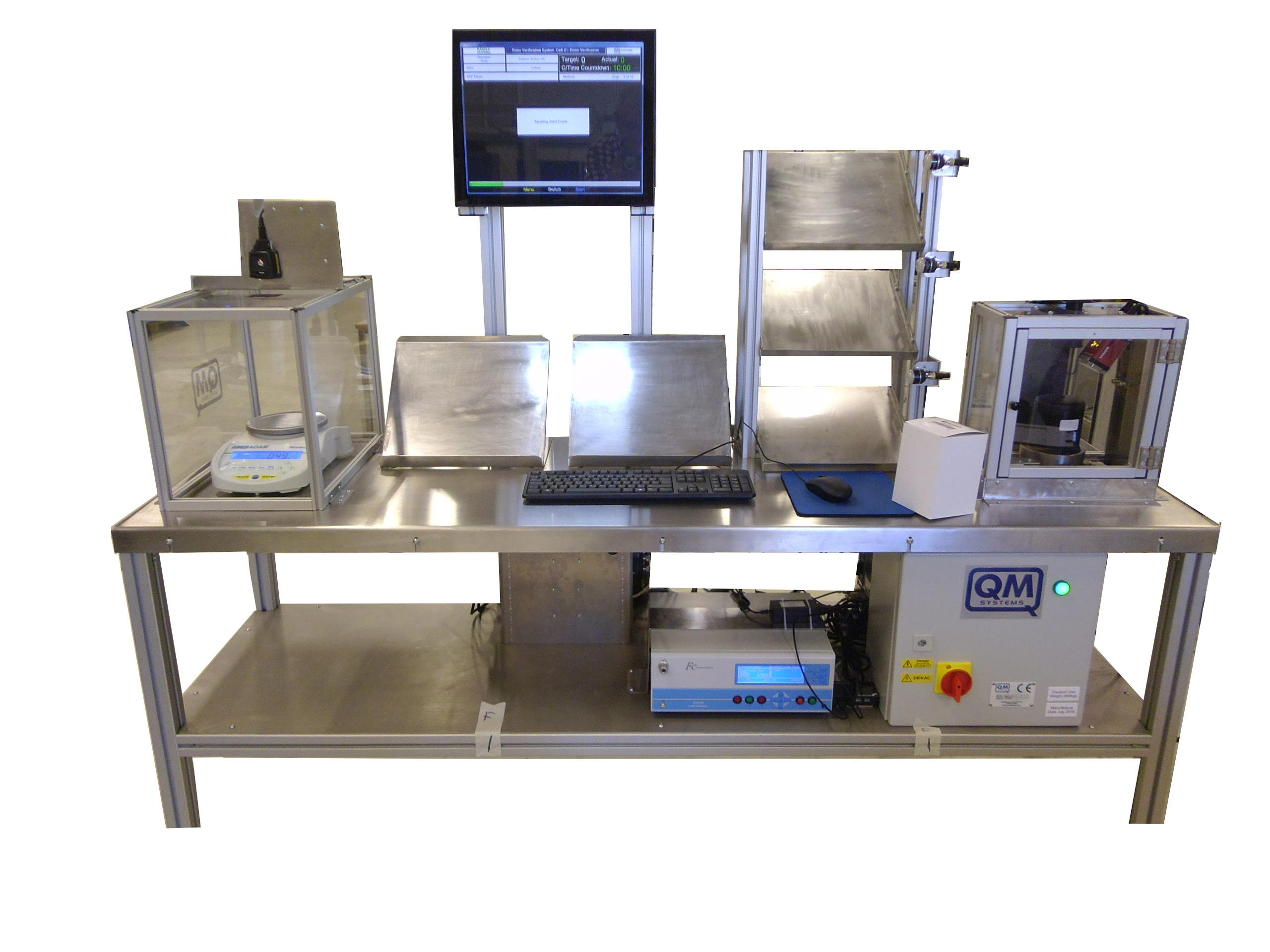 Centrifugal Plastic Rotor Verification System