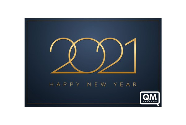 happy new year wishes 2021 by QM System