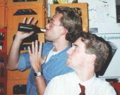 Henning och Jonas