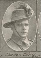 Private Charles Baird. Image: John Oxley Library, State Library of Queensland, 11 December 1915.