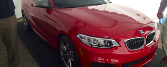 New BMW 235i photo leaked before official launch!