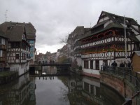'Little France' in Strasbourg, so named when Strasbourg was German, and all this was the red light district.