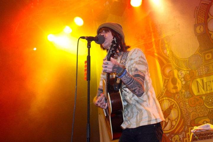 NeverShoutNever rocking out