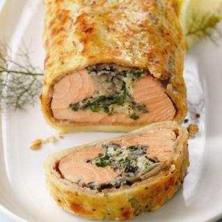 Salmon Coulibiac