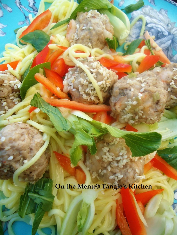 DSC08189 (2) Sesame Shrimp and Pork Meatballs with Noodles.jpg