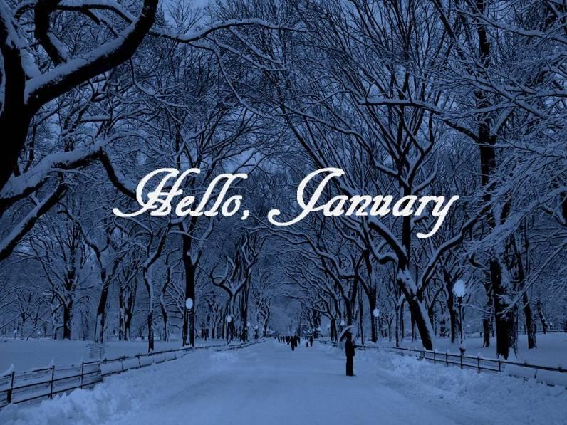 Hello, January | On the Menu @ Tangie's Kitchen