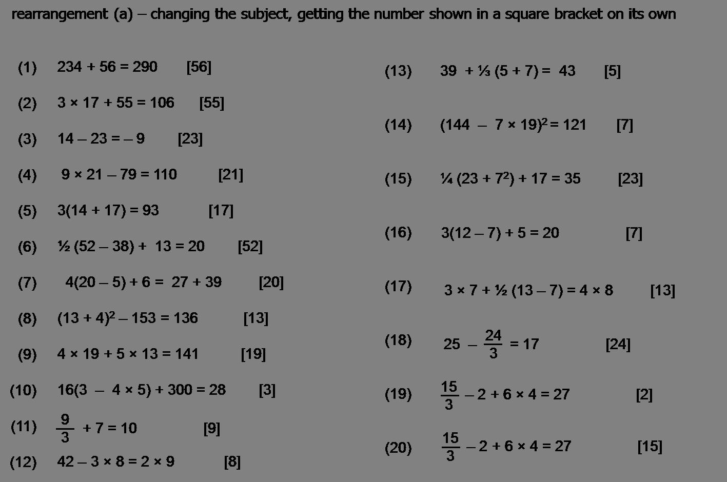 Algebra And Graphs Harris Maths